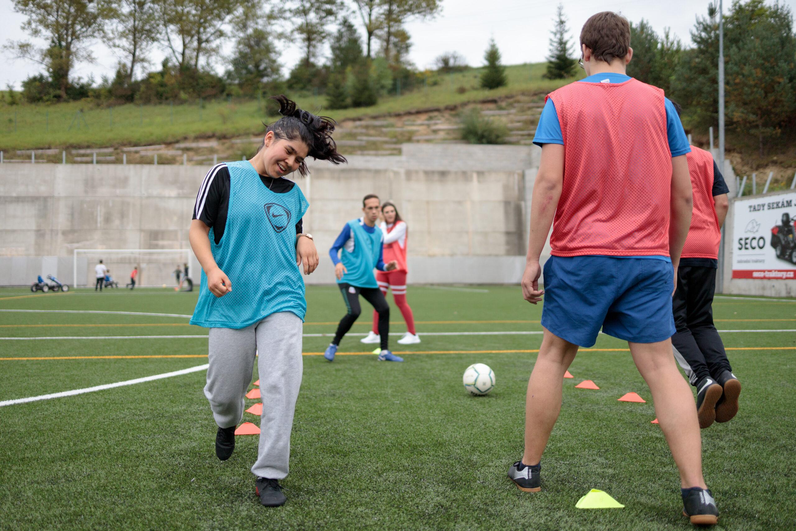 Youth leadership training, Český Dub, Czech Republic